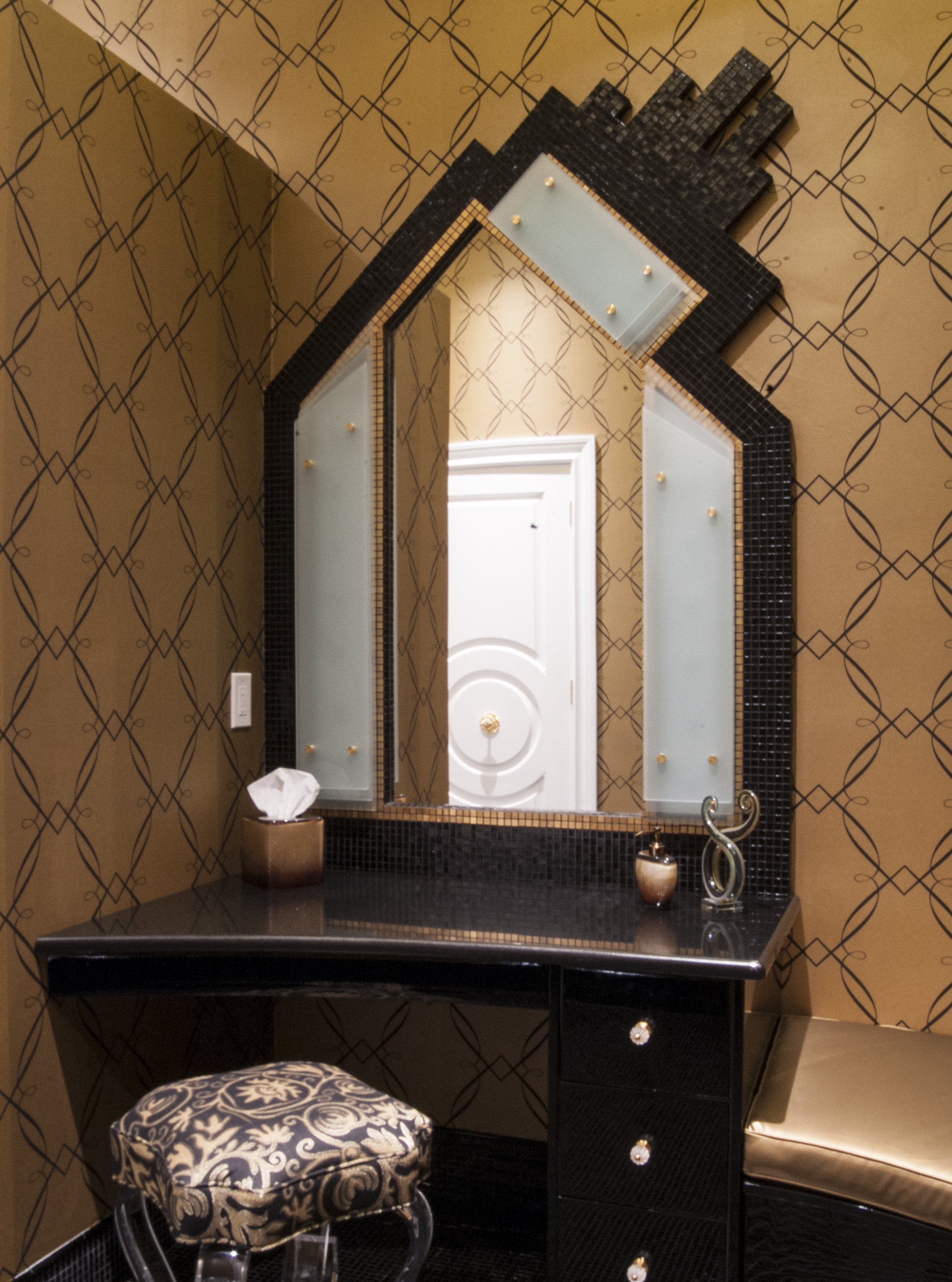 mosaic tile bath amp cabana � aspen associates